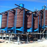 Corrosion anti Mining Equipment Spiral Chute para Ore