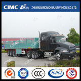 Cimc Huajun 3axle One-Group Stake/Cargo Semi Trailer