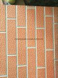 Painel de sanduíche gravado da isolação do metal de folha