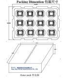 Getian 10000-12000lm Sem fio de ouro com sensor de temperatura Flip Chip150W Módulo de LED