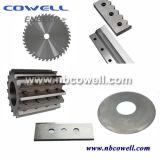 Uso universal Plástico Película de sellado Trituradora de corte Cuchilla / cuchilla
