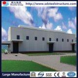 Structure métallique établissant des prix domestiques préfabriqués à plusiers étages