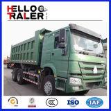 Vrachtwagen van de Kipper van de Vrachtwagen van de Stortplaats van Sinotruk HOWO 6X4 de Grote Op zwaar werk berekende