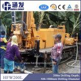 200m Tiefe, Hfw200L Gleisketten-Wasser-Vertiefungs-Bohrmaschine