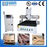 gravura de madeira da máquina do CNC do router 4axis1618 para a fatura modelo