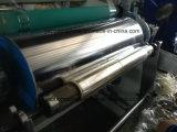 Ybpvc-600mm Kurbelgehäuse-Belüftung haften Film-Herstellung-Maschine mit einzelnem Extruder an