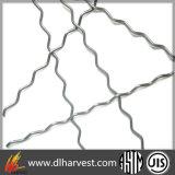 Fibra ondulada do aço inoxidável para o reforço concreto