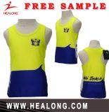 Gilet courant de formation du football de gymnastique de sport de femmes