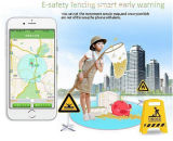 Reloj del perseguidor del GPS de los cabritos con el SOS y el control del APP