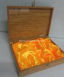 Rectángulo de madera del cigarrillo de la antigüedad vidriosa de gama alta del final