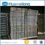 Паллет клетки металла евро сетки складывая
