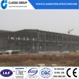 Prefabricated Steel Space Frame Structure Warehouse with Large Span