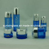 De de nieuwe Kruik van de Room van het Glas Dedign en Fles Van uitstekende kwaliteit van de Lotion (c-9010)