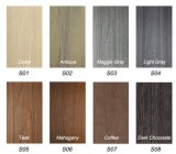 O material de construção para o Decking de madeira do revestimento WPC da praia