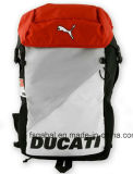 Ducati Moto Knight Sports Helmet Backpack com Net Pocket