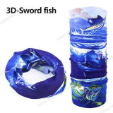 3D印刷の魚釣スカーフ