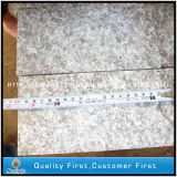 Pavés flambés les meilleur marché normaux du granit G636 de galet rose d'allée