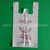 Подгонянные мешки тенниски HDPE для супермаркета
