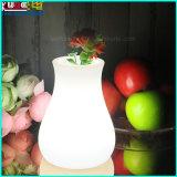 Беспроволочная ваза цветка рождества с СИД