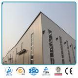 China prefabriceerde de Lichte Loods van het Pakhuis van de Structuur van het Staal