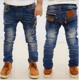 Jeans occasionnels de garçons du vêtement de ressort des enfants neufs d'automne