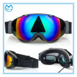 スキー保護OTG雪のゴーグルを競争させる虹のコーティング