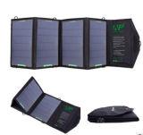 Banco portátil da potência solar do carregador solar Monocrystalline recarregável do silicone