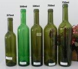 бутылки напитка стеклянной бутылки вина 750ml