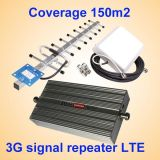 aumentador de presión de la señal de 27dBm 2g, repetidor de la señal del amplificador 900MHz de la señal del teléfono celular