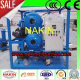 La máquina de la purificación de petróleo del transformador para mejora fuerza dieléctrica del petróleo