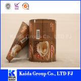 Película estratificada do café do alimento do alumínio do empacotamento plástico