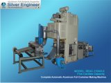 Реальная автоматическая производственная линия алюминиевого контейнера