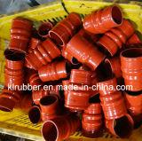Tube en caoutchouc flexible de silicone de réducteur de radiateur pour les pièces des véhicules à moteur