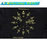 T-shirt de Tableau d'impression de Silkscreen de Cetak Baju Murah