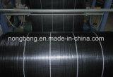 El acolchado de plástico de malezas manta de fibra de la capa de tela perforada con aguja