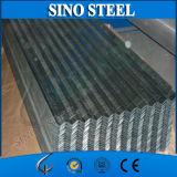 Folha de aço galvanizada ondulada da telhadura para o edifício