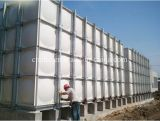 Grande tanque de armazenamento composto da água da fonte GRP SMC da fábrica do volume