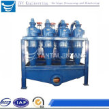 Separador de ciclone líquido contínuo da grande capacidade, separador de ciclone líquido contínuo usado na mineração