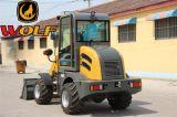 Piccolo caricatore della rotella da 1 tonnellata dal fornitore cinese