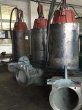 Pompa centrifuga sommergibile delle acque di rifiuto della città