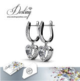 Swarovskiの中心のイヤリングのバレンタインデーからの運命の宝石類の水晶