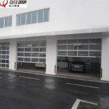 Дверь гаража Frameless высокого качества автоматическая коммерчески стеклянная складывая