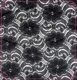 크로셰 뜨개질 스판덱스 직물 레이스 (1105년)