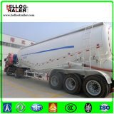 容器のバルク粉の交通機関のトレーラー