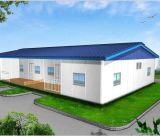 모듈 House 또는 Low Cost Steel Sandwich Panel Prefabricated Houses