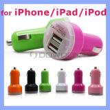 Bunte Doppel-der USB-2 Portadapter auto-Aufladeeinheits-2.1A für Apple Iphones 6 6s und Samsungandroid-Einheiten