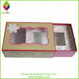 Window를 가진 초 Drawer Style Paper Gift Packaging Box