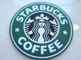 Coaster/esteira moldados costume do copo de café da borracha de silicone algum tamanho