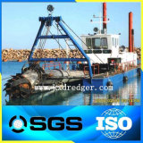 アフリカの市場によってカスタマイズされる川の砂鉱山の吸引の浚渫船