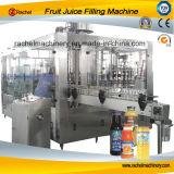 El jugo automático reduce el llenador a pulpa